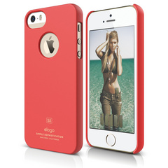 S5 Slim Fit Case for iPhone 5/5s/SE - Soft Italian Rose
