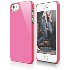 S5 Slim Fit 2 Case for iPhone 5/5s/SE - Hot Pink