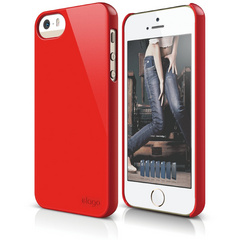S5 Slim Fit 2 Case for iPhone 5/5s/SE - Extreme Red