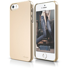 S5 Slim Fit 2 Case for iPhone 5/5s/SE - Soft Champagne Gold