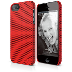 S5 Breath Case for iPhone 5/5s/SE - Extreme Red